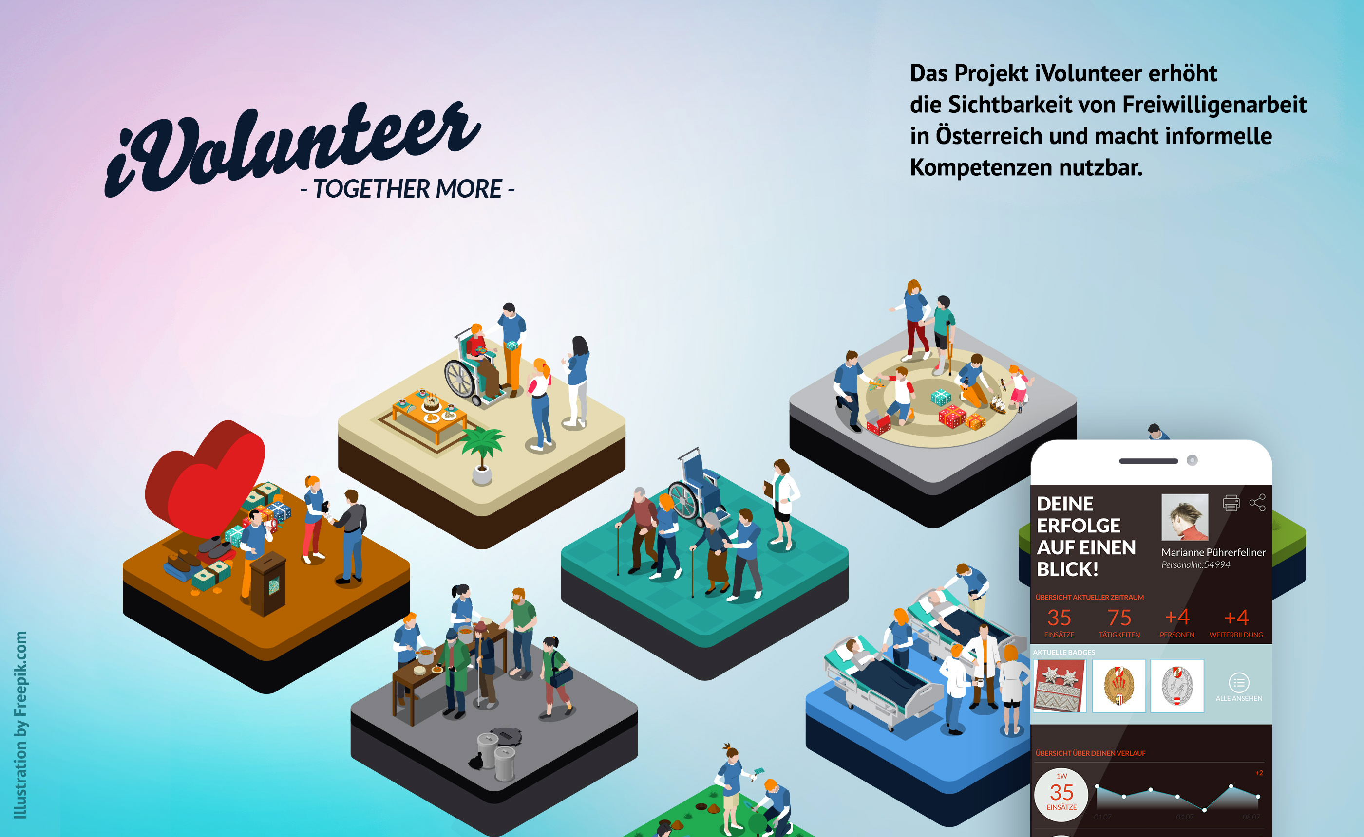 iVolunteer_overview graphics